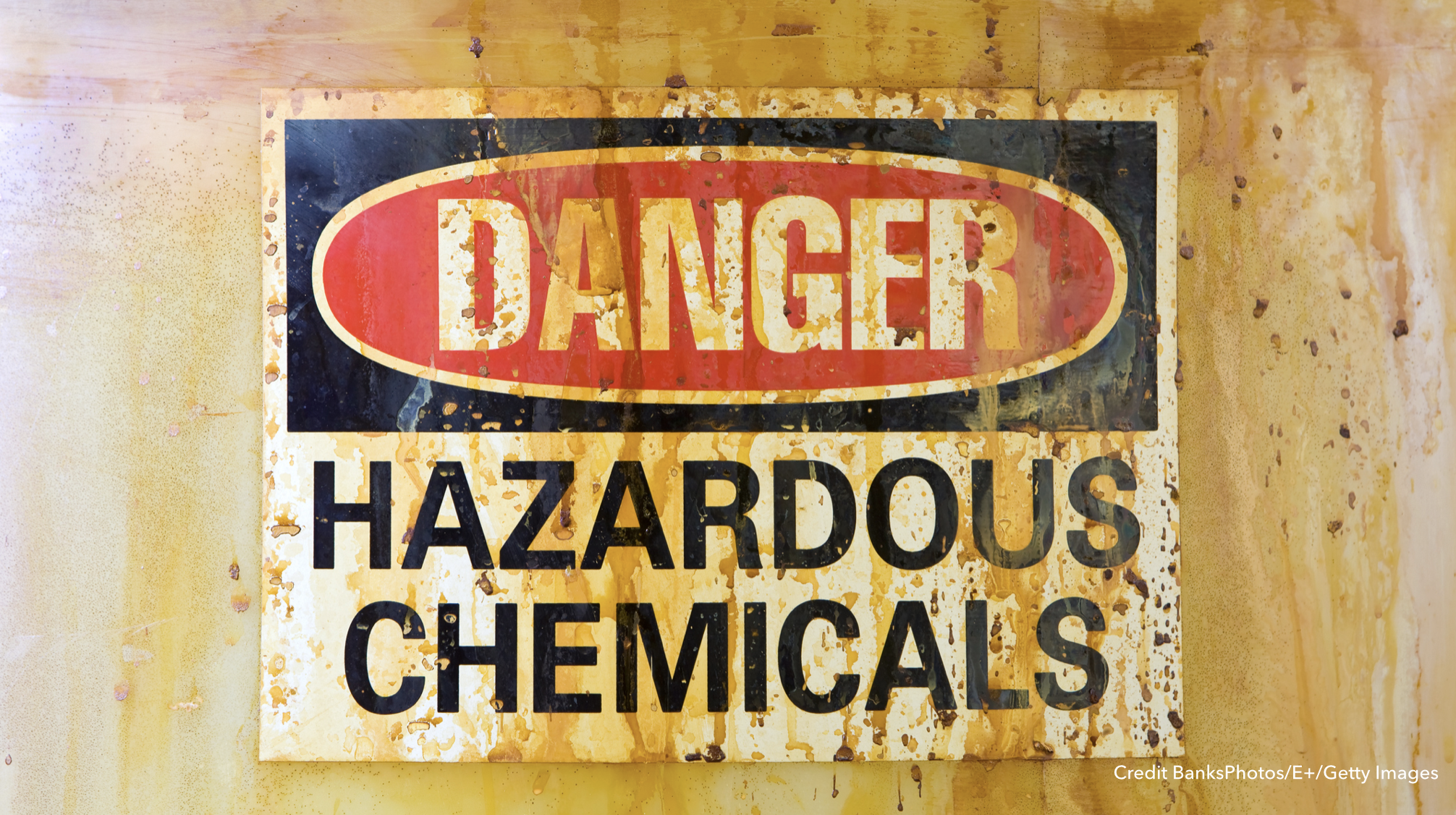 Image: Danger. Hazardous chemicals.